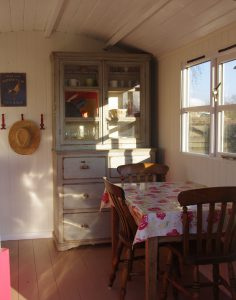 inside the Shepherd's Hut