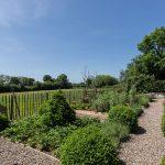 The house and garden at Midland Farm