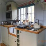 Shepherd's Hut fully equipped kitchen