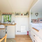 Shepherd Hut fitted with all the modern conveniences including wifi