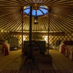 Inside the Yurts Herefordshire finest