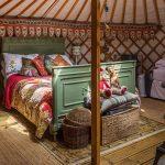 Inside Mongolian Yurt