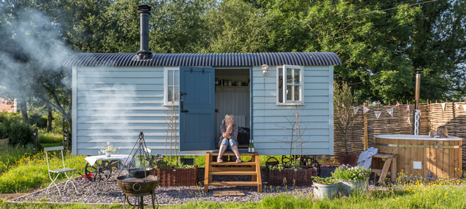 Shepherds Hut Herefordshire